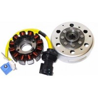 Allumage-Stator-Rotor-Benelli-Adiva 125-150-Derbi-Boulevard 125-150-200-GP1 125