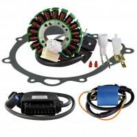 Kit Alternateur Stator Joint Carter Boitier CDI Bobine HT Suzuki LTZ400