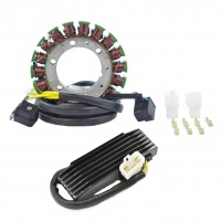 Kit Alternateur Stator Régulateur Rectifieur Suzuki Boulevard S83 VS1400 GLP Intruder VS1400 GL Intruder