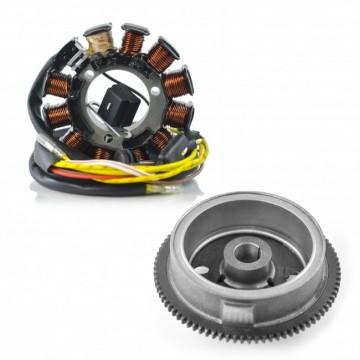 Kit Alternateur Stator Volant Magnétique Rotor Polaris Sportsman 500  2000-2002 OEM 3086984