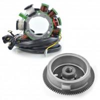 Kit Stator Flywheel Rotor Polaris Magnum 500 1999-2000