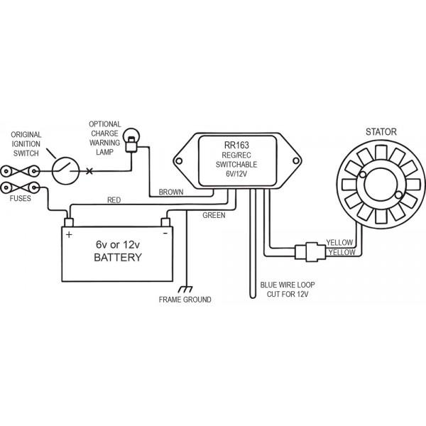 ducati regulator wiring diagram ignition kit stator rotor regulator rectifier ducati supersport  ignition kit stator rotor regulator