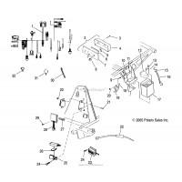 Kit Surepower POLARIS SCRAMBLER 500 2004-2006 SPORTSMAN 400 450 SPORTSMAN 500 HO 2004-2006
