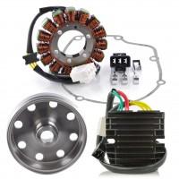 Kit Stator Rotor Joint Carter Régulateur Rectifieur Mosfet Aprilia RSV4 1000 Tuono 1000 V4 Tuono 1100 V4 OEM 897479 2D000049