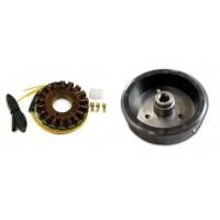Kit Alternateur Stator Volant Magnétique Rotor Kawasaki KLE500