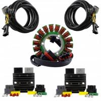 Kit Stator 2 Sorties + 2 Régulateurs Polaris General 1000 RZR900 1000 Ranger 570 900