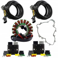Kit Dual Output Stator SERIES Regulators Relocation Harnesses Gasket for Polaris RZR900 1000 Ranger 900 General 1000