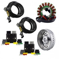 Kit SPLYT Stator Rotor Regulators 900W Polaris Scrambler 850 1000 Hawkeye 325 Sportsman 325 450 570 850 1000 Ace