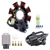 Kit Stator Regulator HT Coil Polaris RZR 170 Sportsman 90 Predator 50 Outlaw 50 90 OEM 0453559 0454949