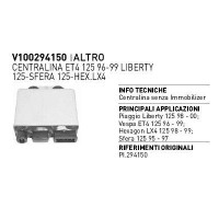 Boitier CDI Piaggio Hexagon 125 Liberty 125 Vespa ET4 125