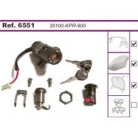Contacteur à Clés - Neiman - Honda - Pantheon 125/150-SH 125/150-SH Scoopy 125/150