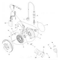 Volant Magnétique Rotor Polaris 500 Scrambler 3090239