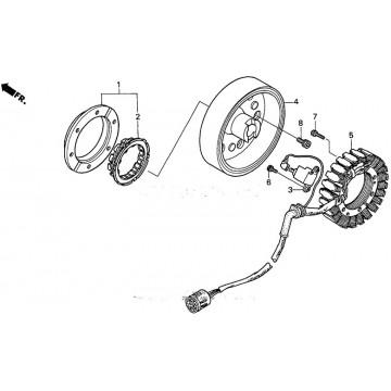 Rotor Honda TRX450 Foreman ES OEM 31110-HM7-004