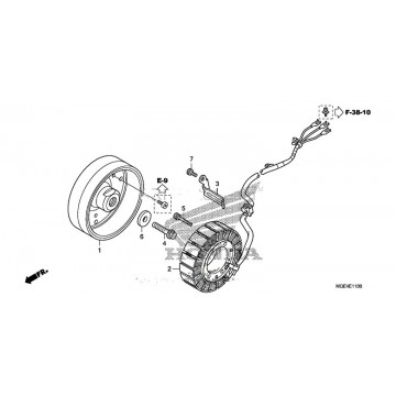 Stator Honda VFR1200