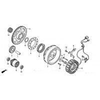 Volant Magnétique Rotor Honda VTX1800 31110-MCH-003