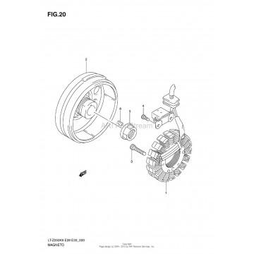 Rotor Suzuki LTZ250 LTF250 32102-05G00