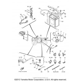 Wire Harness Yamaha Bear Tracker Xe on 76 Evinrude Wiring Diagram