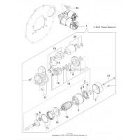 Démarreur Polaris Ranger 900 Diesel 3070309