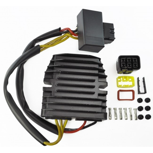 OEM Repl.# 21066-0033//21066-0705//21066-0712//21066-0732//21066-1127 Z1000 Z750 ER-6N 2003-2019 Versys 650 VN 900 Vulcan Voltage Regulator for Kawasaki Ninja 300 650 650R 1000