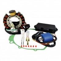 Ignition-Stator-Stator Cover Gasket-CDI-Ignition Coil-Yamaha-350 Warrior