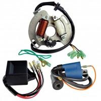 Allumage Alternateur Stator Boitier CDI Bobine Haute Tension Yamaha 200 Blaster