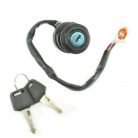 Ignition Key Switch-125-250-350-660-700 Raptor-125-350 Grizzly-350 Wolverine-Bruin-Warrior-125 Breeze