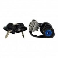 Ignition Key Switch Yamaha-350 Grizzly-400 Big Bear-400 Kodiak-660 Grizzly