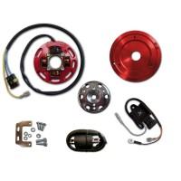 Ignition-Stator-Rotor-CDI-External Ignition Coil-Aprilia-Amico-Gulliver-Rally-Scarabeo-Sonic-SR50
